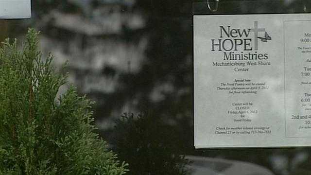 New Hope Ministries sign
