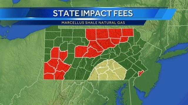 Marcellus Shale counties graphic