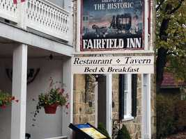 The historic Fairfield Inn in Adams County will be auctioned Nov. 3.