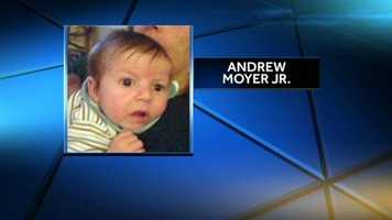 Andrew Moyer Jr. was found dead in a Columbia, Lancaster County, home by his grandmother on Oct. 18.