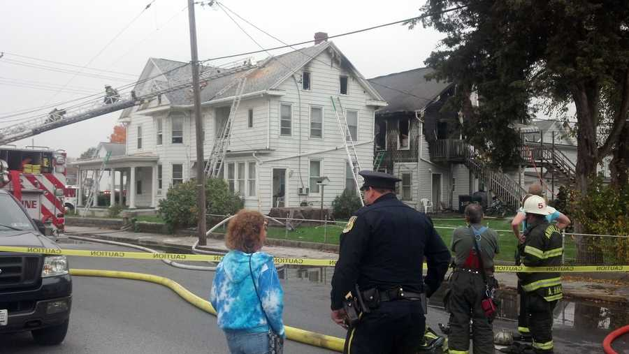 Investigators said they think a candle may have caused the fire.