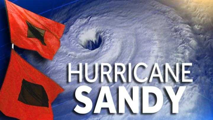 Hurricane Sandy graphic