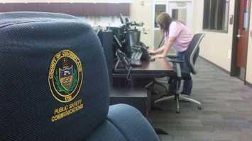 News 8's Matt Barcaro got a look inside Cumberland County's emergency operations center.