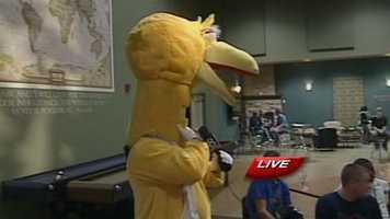 Big Bird even made an appearance...