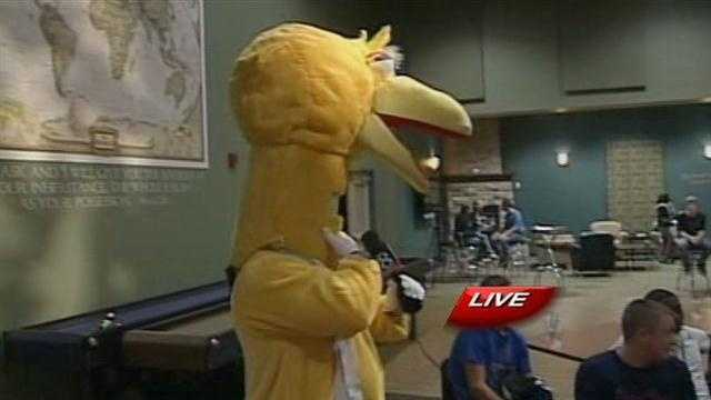 Big Bird even made an appearance...