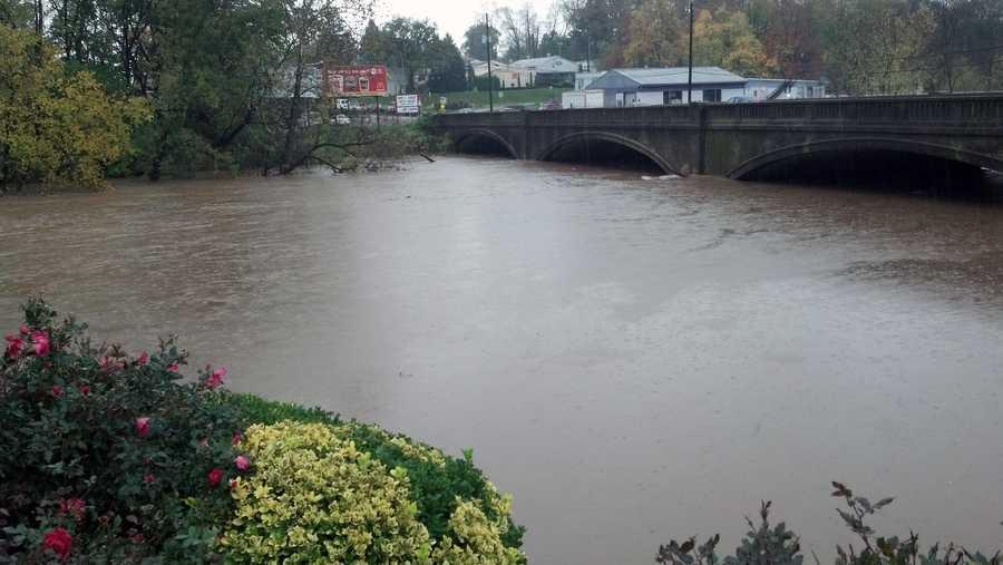 Tuesday: Conestoga River near Lancaster