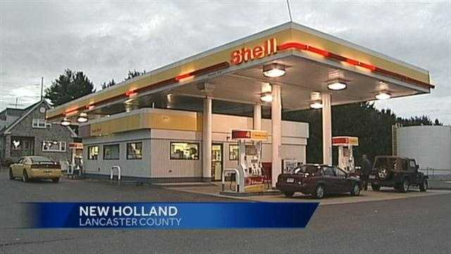 NEW HOLLAND MILLIONAIRE gas station
