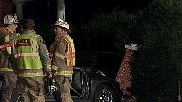 The crash happened about 9:45 p.m. Sunday in the 1200 block of East King Street.