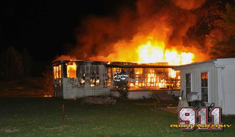 A state police fire marshal is investigating a fire that destroyed a home in Conewago Township, Adams County.