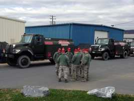 The trucks as well as their nozzle systems were converted to carry gasoline and fuel non-military vehicles.