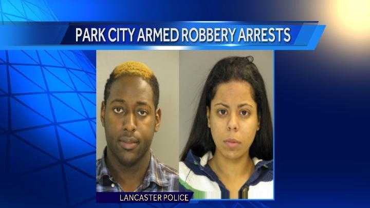 Lamar Reed, 23, and Elizabeth Castillo, 21, have been charged in a Sunday robbery at Park City Center.