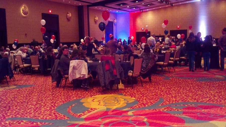 Republicans camp at the Lancaster County Convention Center to support Congressman Joe Pitts. He's held this seat since 1997.