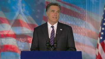Republican challenger Mitt Romney has picked up 206 electoral votes.