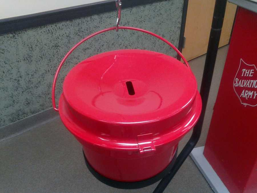 Bell ringers will be collecting donations with the famous red kettles at businesses across the county from now until Christmas Eve.