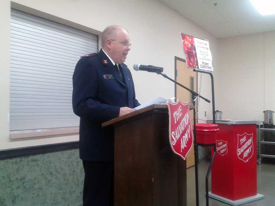 """""""Toys to children that are between the ages of birth and 12 years, we'll do two toys for each person. Then we'll do a food card, a gift card for people to go to a local store to purchase food,"""" Major Brian Smith said."""