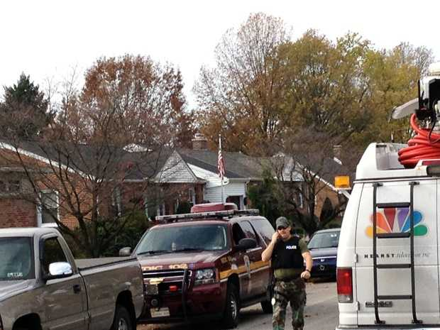 A man surrendered peacefully to police around 10:30 a.m. in York County after a standoff on Monday morning.