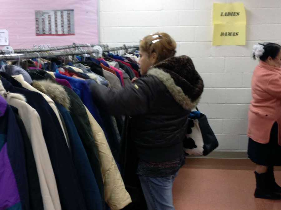 The coat distribution runs until 4 p.m. Wednesday and from 9 a.m. to 4 p.m. Thursday and Friday.