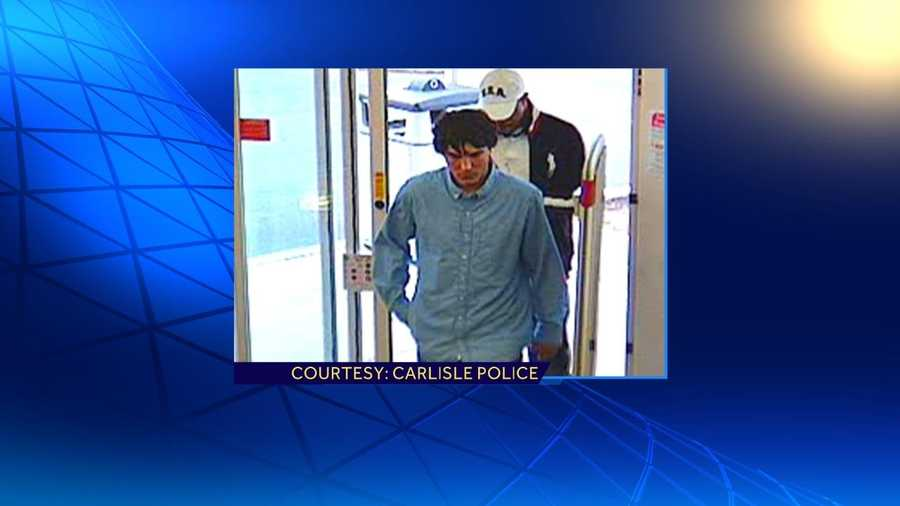 Police in Cumberland County are trying to identify the men in these surveillance photos, who they said robbed three pharmacies earlier this week.