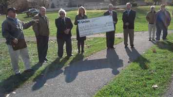 Union Community Bank donated $5,000 to the project.