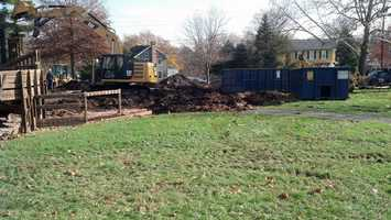 The Joyland playground, which opened in 1994, will be rebuilt.