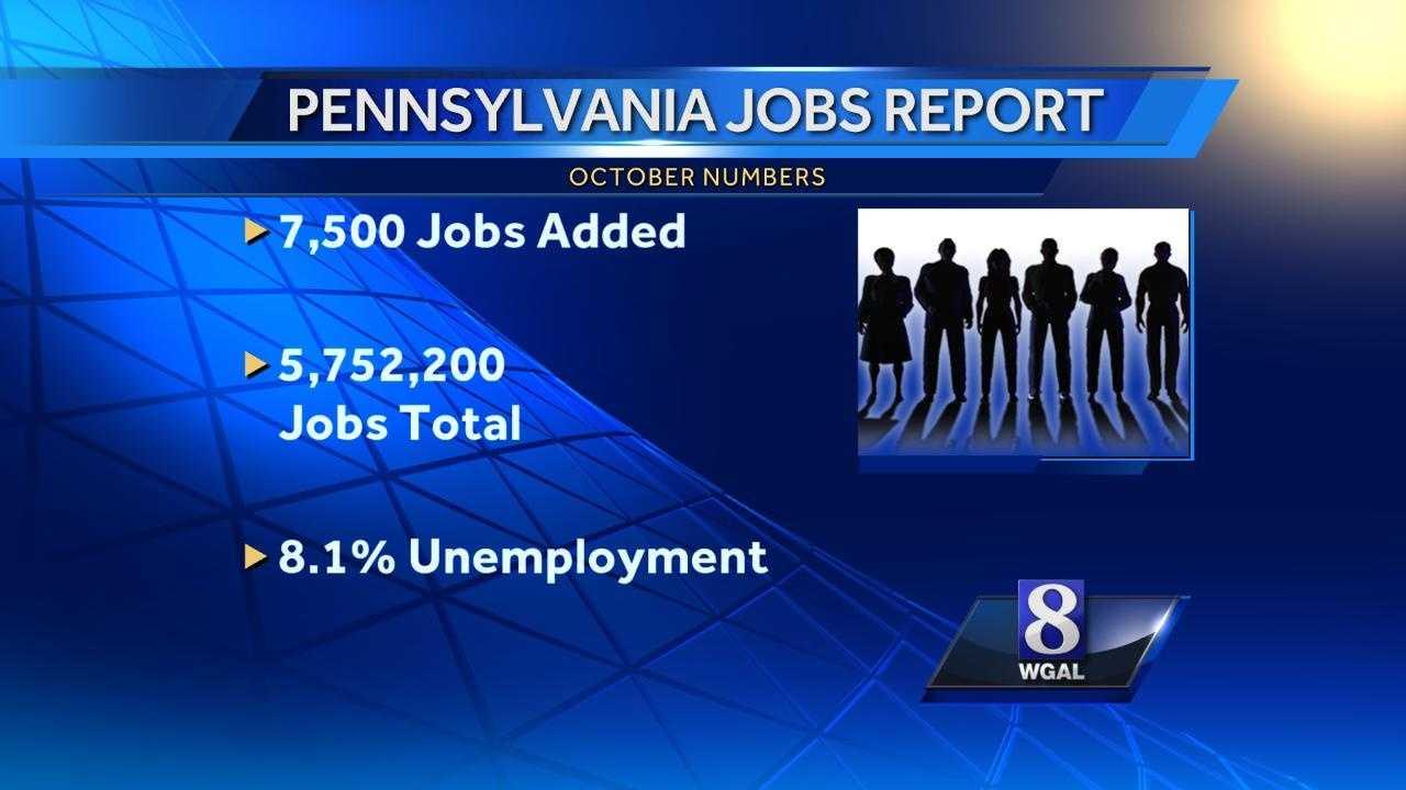 Pa job graphic