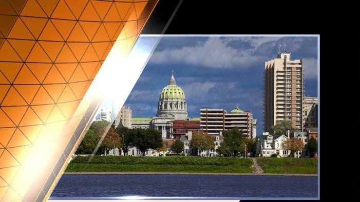 Harrisburg city scape
