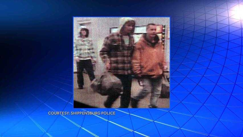 Shippensburg police released this surveillance photo of the theft suspects.