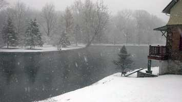 Children's Lake in Boiling Springs, Cumberland County.