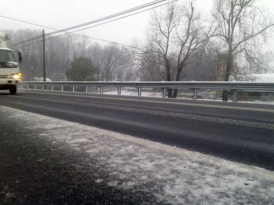 Route 624, outside Windsor, York County