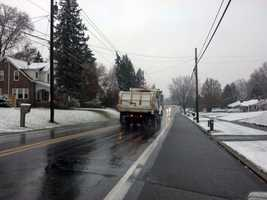 A Manheim Township truck on Fruitville Pike.