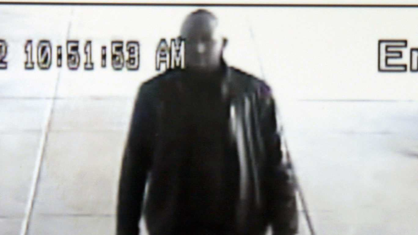 Lower Paxton Township police released this surveillance photo of the man accused of using counterfeit cash at a store.