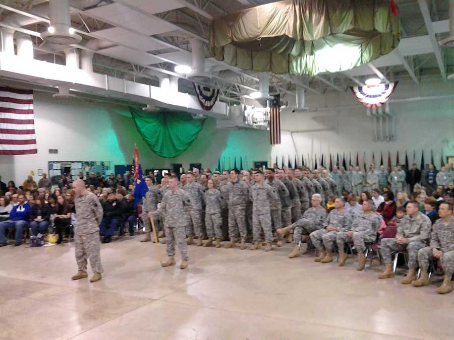 More than 70 members of the Pennsylvania Army National Guard were honored at a ceremony Friday morning at Fort Indiantown Gap before deploying overseas.