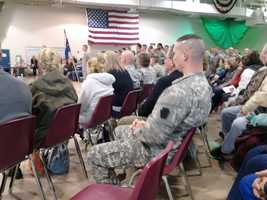 They will train at Fort Hood, Texas, before deploying.