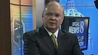 John Humphries, WGAL's new president and general manager