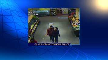 They were seen leaving the store together in the same vehicle.