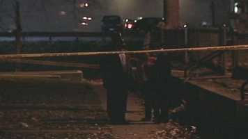 Police are investigating a homicide near Hall Manor in Harrisburg.
