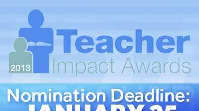 Teacher Impact Awards 2012