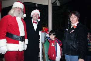 Doreen Ober, Manheim's Main Street Manager, shared these photos of the borough's Christmas tree lighting, which took place Saturday night.