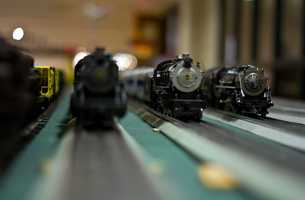Thousands of people come each year to see the 20-train display that also serves as a fundraiser for the town's public library.