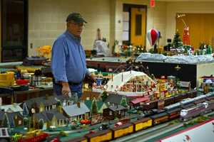 """A group known as """"The Train Guys"""" has set up a holiday train display in Lancaster County."""