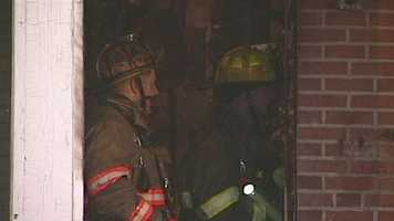 Investigators said the fire was caused by careless smoking.