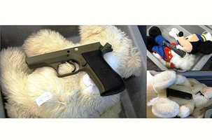 And sometimes weapons are found in the strangest places – like stuffed animals. There were three disassembled guns stashed in stuffed animals at an airport in Providence in May 2012. All of the components were there to assemble a fully functional loaded firearm, according to TSA. The TSA says this is also an example of why they've made changes to how they screen children 12 and under.