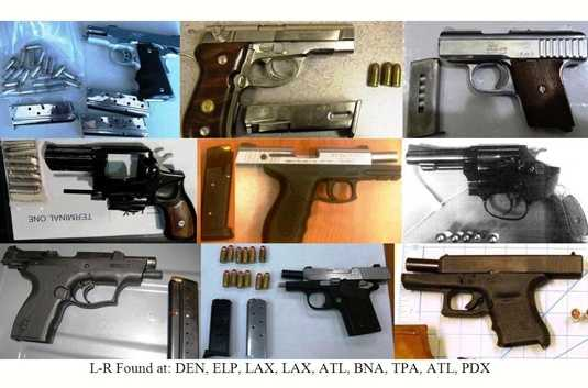 We hope you have enjoyed this look at some of the items TSA workers have found at airports across the country.