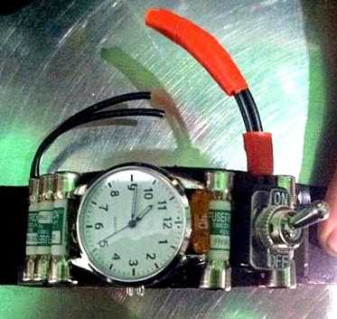"In Oakland, TSA came across this strange watch. The watch is a homemade piece of steampunk art, but it caused confusion. The watch was not dangerous, but workers had to be sure. An explosive detection team had to clear the item. The TSA blog states, "" Please take a moment to think about what you're traveling with and how it might appear to TSA."""