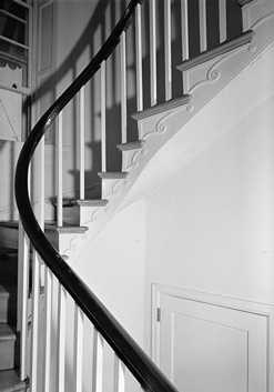 Here's a look at the same staircase in 1965.