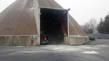 PennDOT shed in Harrisburg