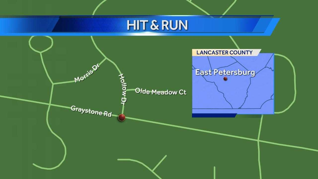 1.3 East Petersburg hit and run