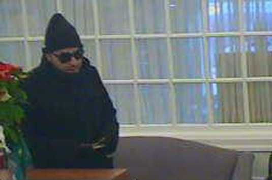 Police released these images of the robber Thursday afternoon.