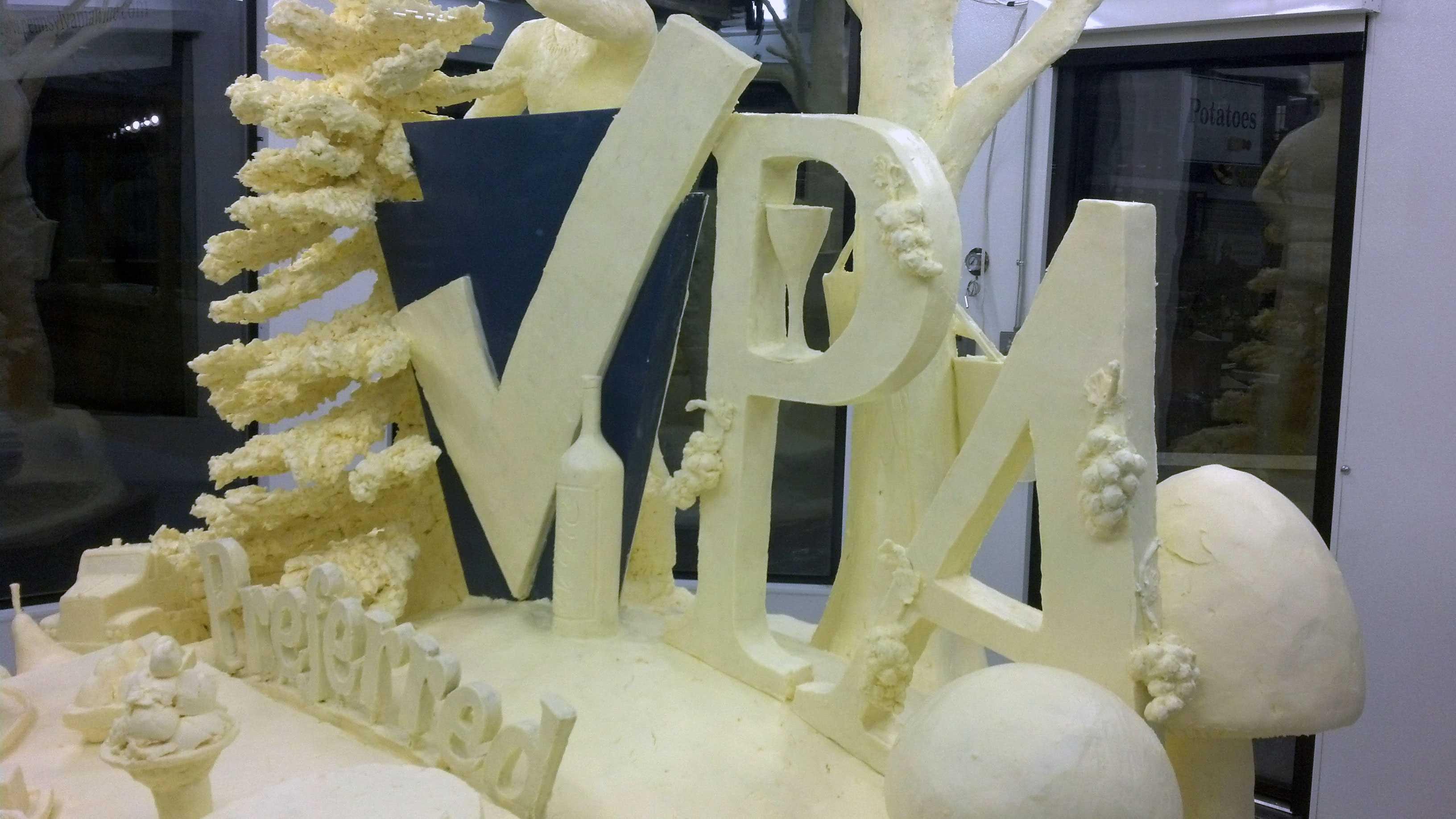 Butter sculpture