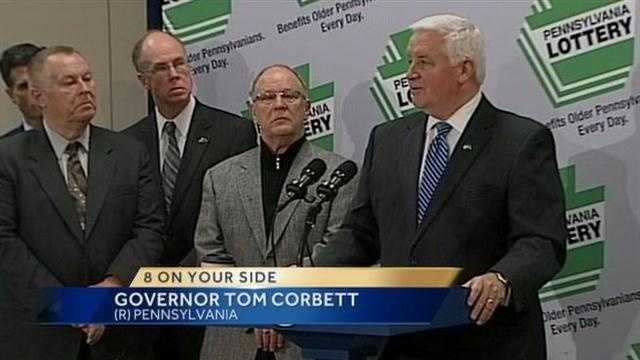 Corbett lottery privatization